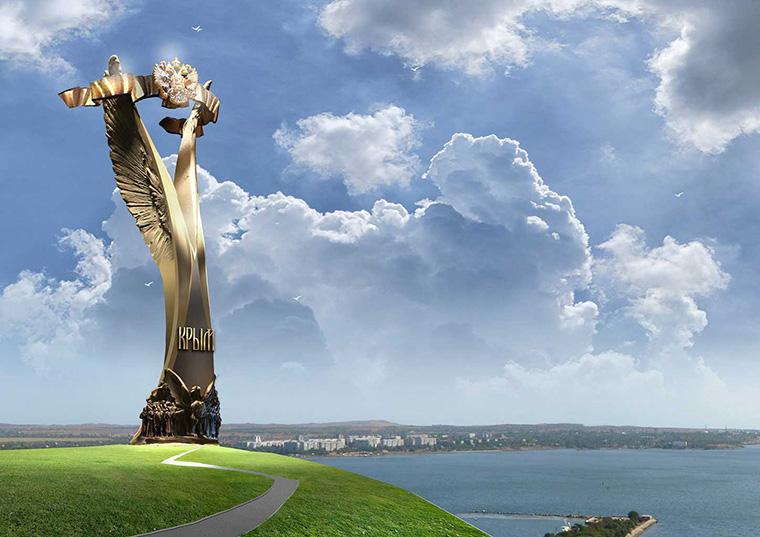 ВКрыму собираются поставить монумент Путину завозвращение «вродную гавань»