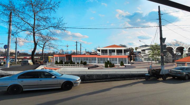 проект реконструкции площади перед Центральным рынком в Симферополе