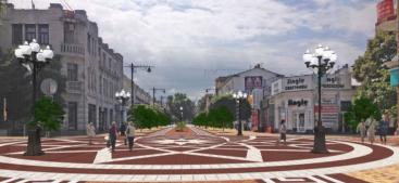 В Симферополе выступили против проекта реконструкции центра, фото: © администрация Симферополя